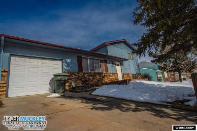 Casper WY Single Family Home New: $179,900