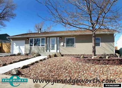 Casper WY Single Family Home New: $235,000