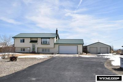 Glenrock Single Family Home For Sale: 20 N Bobcat Rd