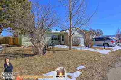 Casper Single Family Home For Sale: 1429 Bon