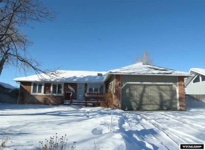 Casper WY Single Family Home For Sale: $350,000