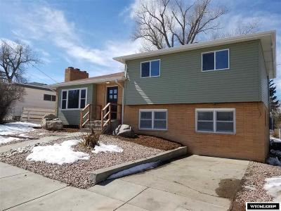 Casper WY Single Family Home For Sale: $230,000