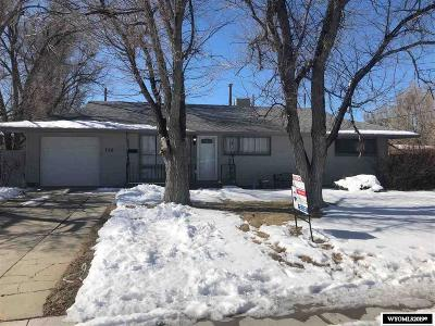 Casper WY Single Family Home For Sale: $179,900