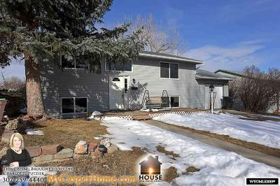 Casper WY Single Family Home New: $195,000