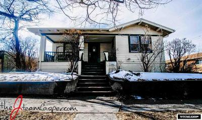 Casper WY Single Family Home For Sale: $165,000