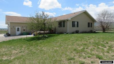 Lander Single Family Home For Sale: 23 Smith Creek