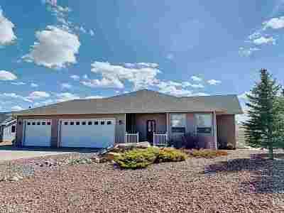 Buffalo Single Family Home For Sale: 585 S Pinnacle