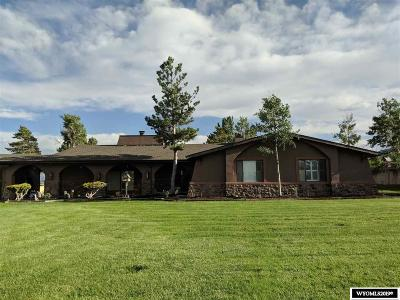 Rock Springs Single Family Home For Sale: 497 Mesa