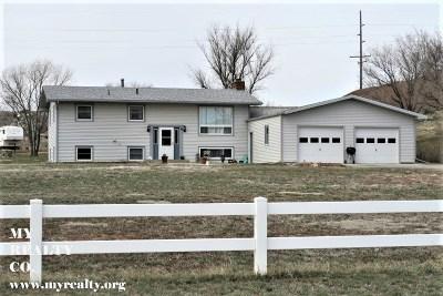 Glenrock, Alcova, Casper, Douglas, Evansville, Bar Nunn, Midwest Single Family Home For Sale: 45 Red Rock