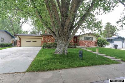 Casper Single Family Home For Sale: 3500 Arroyo