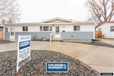 Casper Single Family Home For Sale: 1719 Fetterman