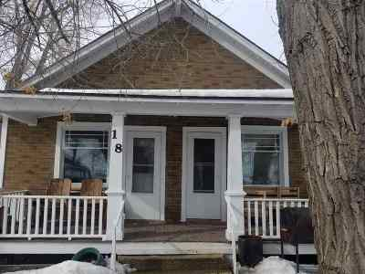 Diamondville Single Family Home For Sale: 18 Chicago