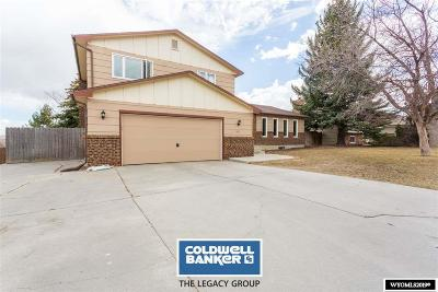 Casper Single Family Home For Sale: 1031 Dundee