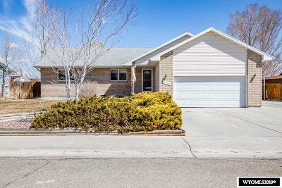 Green River Single Family Home For Sale: 2315 W Teton