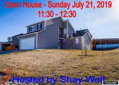Casper Single Family Home For Sale: 2543 Shumway