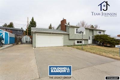 Casper, Evansville, Bar Nunn, Glenrock, Douglas, Midwest, Alcova Single Family Home For Sale: 2400 Brentwood