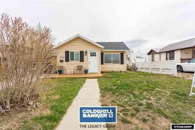 Casper Single Family Home For Sale: 1423 Fenway