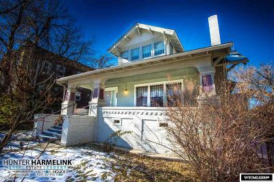Casper Single Family Home Pending-Continue To Show: 834 S Durbin