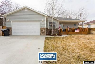 Casper Single Family Home For Sale: 166 Forget Me Not