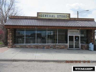 Glenrock Commercial For Sale: 215 S 4th St