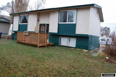 Green River Single Family Home For Sale: 550 Logan
