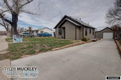 Glenrock Single Family Home For Sale: 220 S 2nd