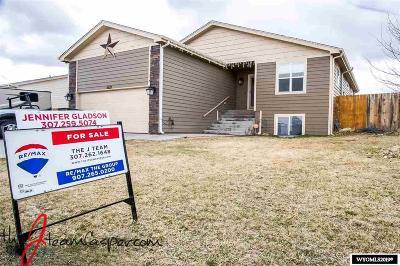 Casper Single Family Home For Sale: 6521 South Springs