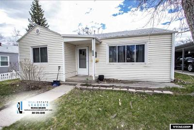 Casper Single Family Home For Sale: 737 E 15th