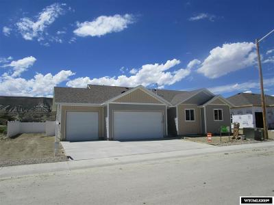 Rock Springs Single Family Home For Sale: 3732 Harrier