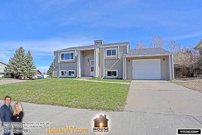 Casper WY Single Family Home For Sale: $229,900