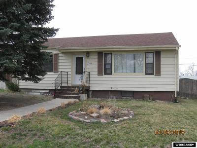 Casper Single Family Home For Sale: 1748 S Melrose
