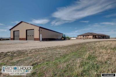 Glenrock, Alcova, Casper, Douglas, Evansville, Bar Nunn, Midwest Single Family Home For Sale: 14114 Poison Spider