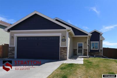 Single Family Home New: 851 Fossil Butte