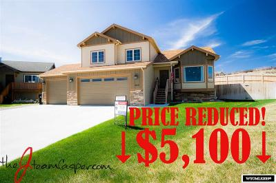 Glenrock, Alcova, Casper, Douglas, Evansville, Bar Nunn, Midwest Single Family Home New: 6641 Whispering Springs Ct