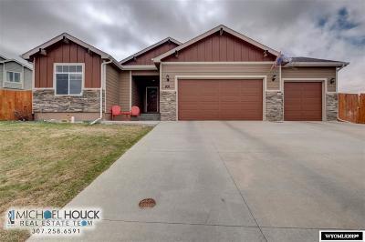 Casper Single Family Home Pending-Continue To Show: 831 W 59th