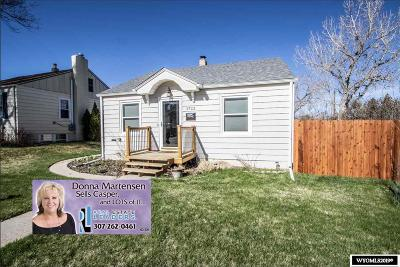 Casper WY Single Family Home New: $234,900