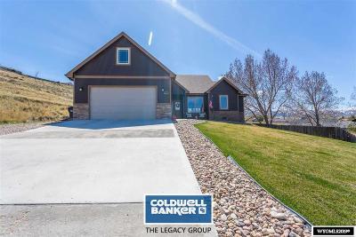 Glenrock, Alcova, Casper, Douglas, Evansville, Bar Nunn, Midwest Single Family Home New: 821 Lake