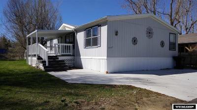 Casper WY Single Family Home For Sale: $57,000