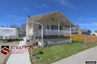 Casper WY Single Family Home New: $170,000