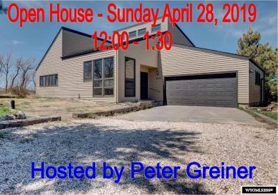 Glenrock, Alcova, Casper, Douglas, Evansville, Bar Nunn, Midwest Single Family Home For Sale: 5090 Chuckwagon
