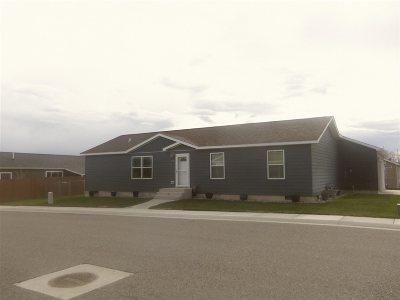Lander Single Family Home For Sale: 510 Cottonwood