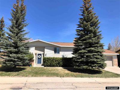 Kemmerer Single Family Home For Sale: 1705 Elk St