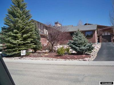 Rock Springs Single Family Home For Sale: 2064 Skyview