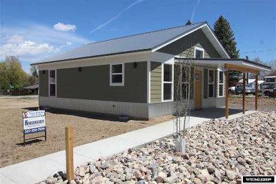 Lander Single Family Home For Sale: 660 N 2nd
