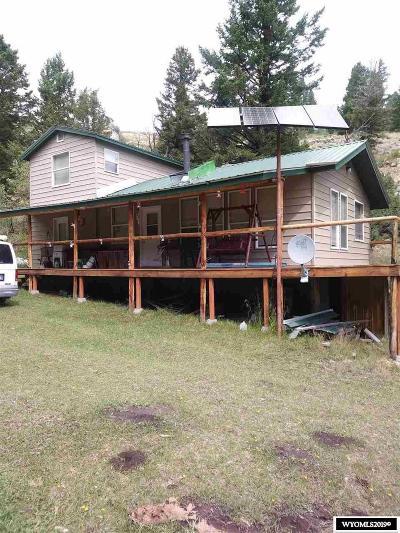 Lander Single Family Home For Sale: 515 Lander Mtn Rd