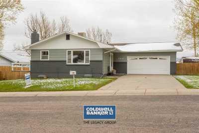 Casper Single Family Home For Sale: 3411 Saratoga