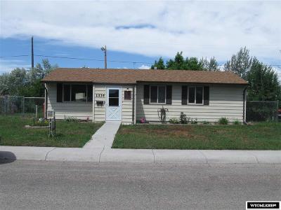 Casper Single Family Home For Sale: 1334 Sycamore St