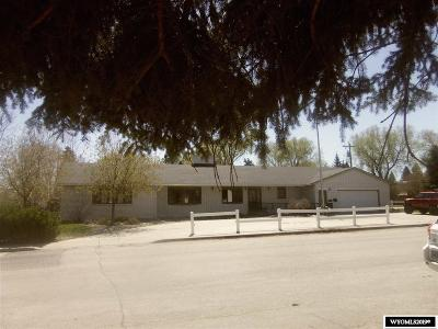 Lander Single Family Home Pending-Continue To Show: 200 S 4th