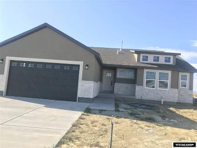 Rock Springs Single Family Home For Sale: 1514 Eagle