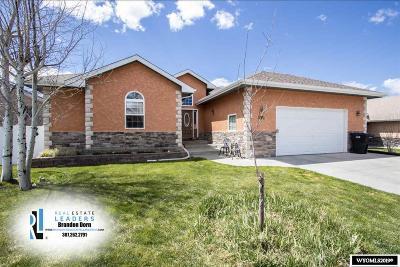 Casper Single Family Home For Sale: 4330 Shasta